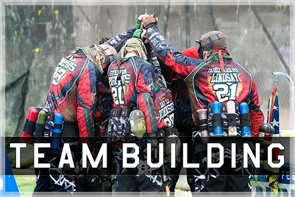 Team building paintball 2019